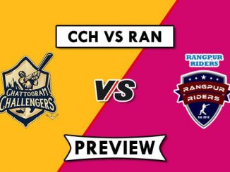 CCH vs RAN Dream 11