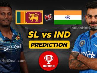 IND vs SL T20 Dream11 Team Prediction Today