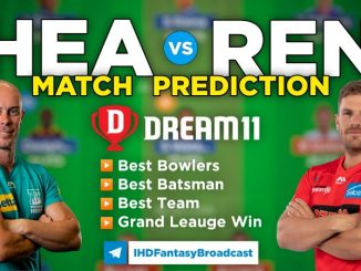 HEA vs REN dream11 team prediction