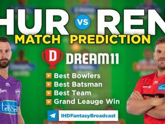 HUR vs REN Dream11 Team Prediction