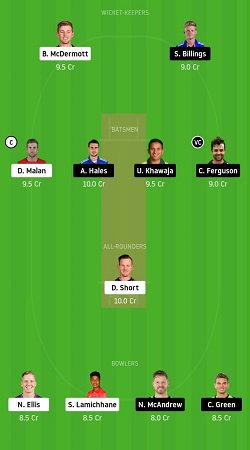 HUR vs THU dream11 team prediction gl