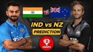 NZ vs IND dream11 prediction