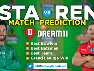 STA vs REN Dream11 Team Prediction