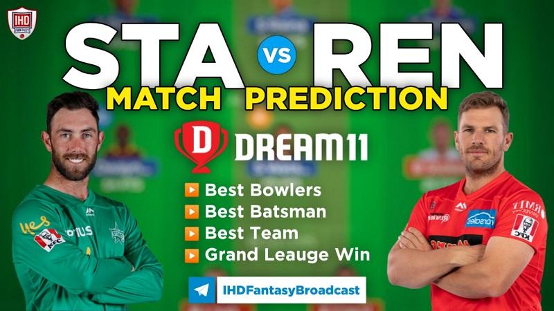 STA vs REN Dream11 Team Prediction