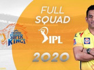 Chennai super kings full Squad List for Vivo IPL 2020, Chennai super kings player list, Vivo IPL team list, Vivo IPL 2020 Chennai super kings Player List