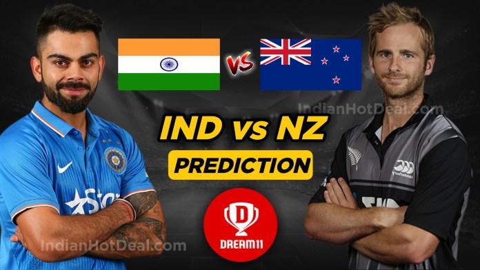 NZ vs IND dream11 team prediction