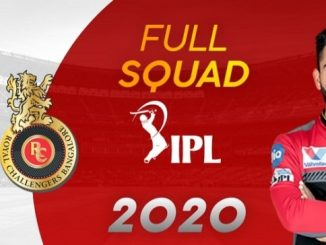 Royal Challenger Bangalore full squad