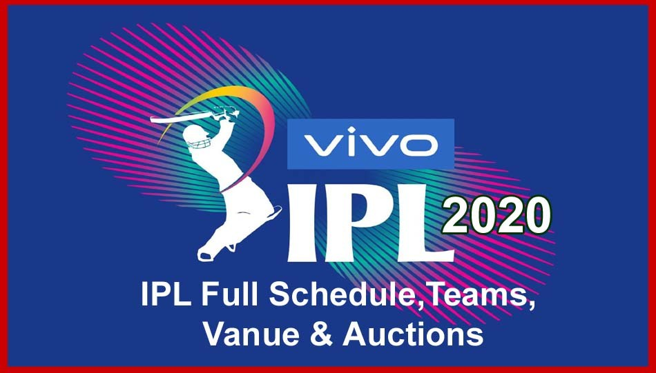 Vivo-ipl-2020-team-match-details