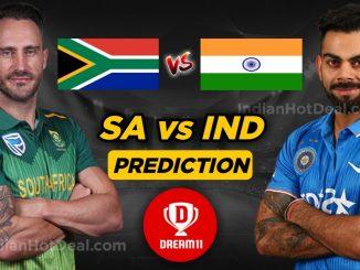 IND vs SA Dream11 Team prediction