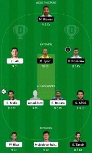 PES vs MUL Dream11 Team for grand league