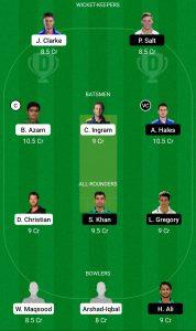 ISL vs KAR Dream11 Team for small league