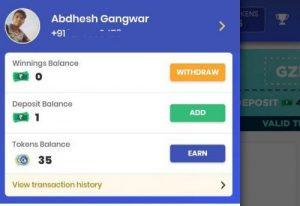 gamezop withdraw earnings