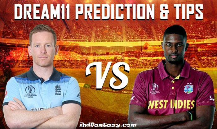 England vs West Indies dream11 team prediction