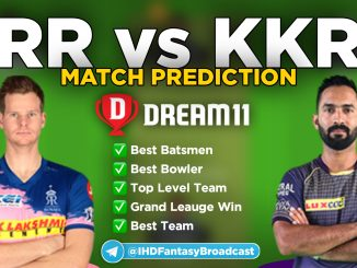 IPL 2020 – Match 54, KKR vs RR Dream11 Team Prediction Today Match