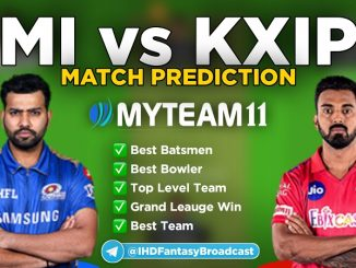 KXIP vs MI myteam11 fantasy team