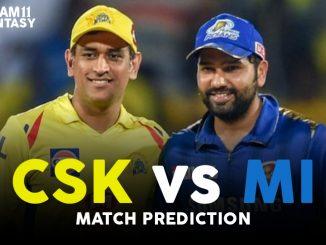 Mi vs CSK MyTeam11 Team Prediction