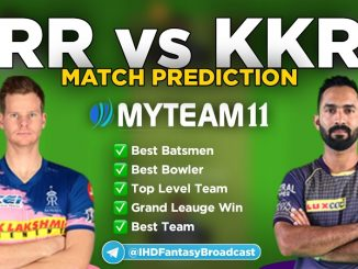 RR vs KKR myteam11 fantasy team
