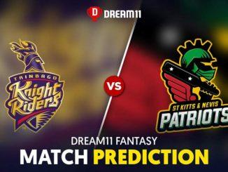 SKN vs TKR Dream11 Team Prediction CPL 29th Match 2020