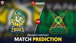 GUY vs SLZ Dream11 Team Prediction CPL 2nd Semi Final 2020