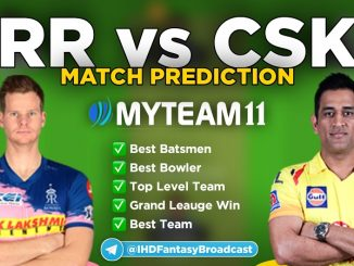 rr vs csk myteam11 fantasy team