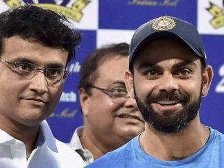 Virat Kohli and Sourav Ganguly