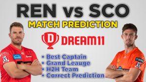 REN vs SCO Dream11 Team Prediction 4th Match Big Bash 2020-21