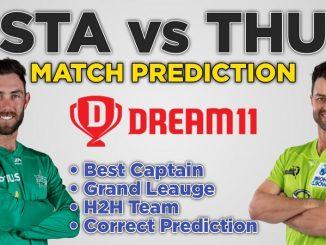 STA vs THU Dream11 Team Prediction