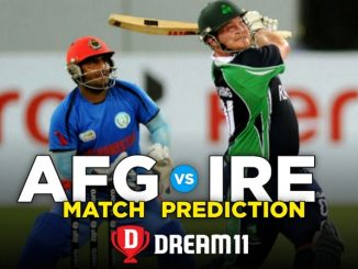 AFG vs IRE Dream11 Team Prediction