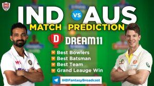 AUS vs IND 4th Test Dream11 Team Prediction Today Match (100% Winning Team)