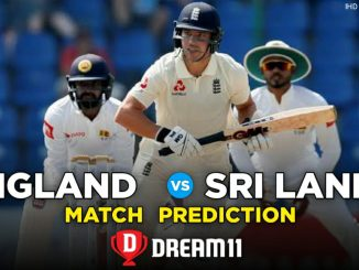 SL vs ENG Dream11 Team Predictions For 2nd Test Match 2020