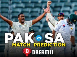PAK vs SA Dream11 Team Prediction For 1st Test Match ( 100% winning Team )