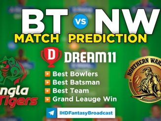 T10 League 2021 – Match 11, BT vs NW Dream11 Team Prediction Today Match