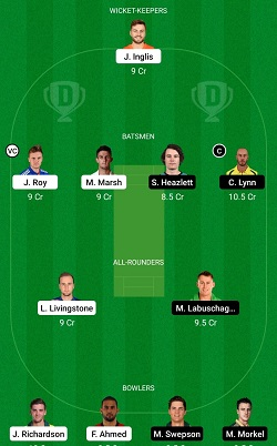 SCO vs HEA Dream11 Team Prediction SL