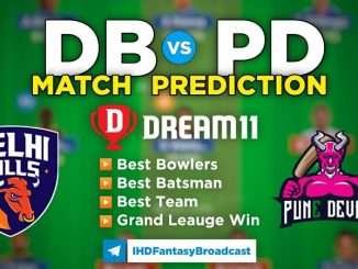 DB vs PD Dream11 Team Prediction