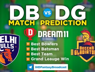 T10 League 2021 – Match 15, DB vs DG Dream11 Team Prediction Today Match