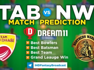 T10 League 2021 – Match 14, TAD vs NW Dream11 Team Prediction Today Match