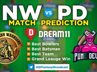 T10 League 2021 – Match 21, NW vs PD Dream11 Team Prediction Today Match