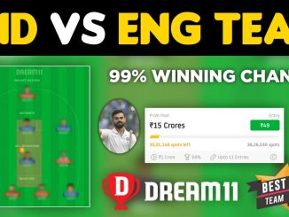 IND vs ENG 2nd Test Dream11 Team Prediction Today Match (100% Winning Team)