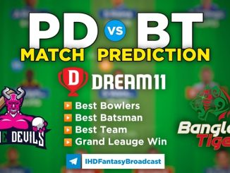 PD vs BT Dream11 Team Prediction