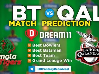 PD vs QAL Dream11 team prediction