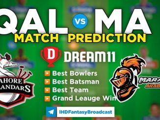 QAL vs MA Dream11 Team Prediction