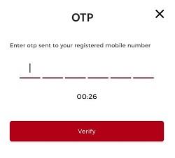 fantafeat OTP verification