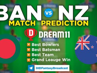 NZ vs BAN Dream11 Team Prediction for Today's Match, 100% Winning