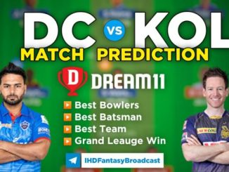 DC vs KOL Dream11 Team Prediction 25th Match IPL 2021