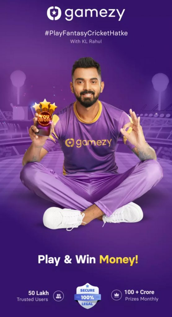 GAMEZY FANTASY CRICKET APP IPL 2021