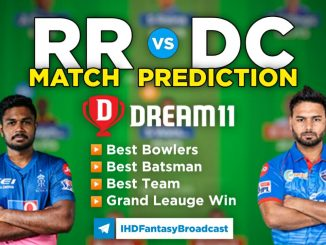 RR vs DC Dream11 Team Prediction 7th Match IPL 2021 (100% Winning Team)