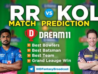 RR vs KOL Dream11 Team Prediction 18th Match IPL 2021 (100% Winning Team)