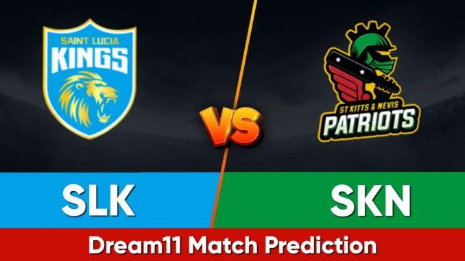 SLK vs SKN Dream11 Team Prediction CPL 2021 Final Match (100% Winning Team)